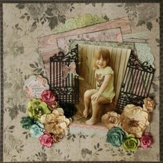 Can you believe it I am one of the finalist for the next Kaisercraft DT. This year I was going to have a year off from DT commitments b. Scrapbook Blog, Scrapbook Sketches, Scrapbooking Layouts, Scrapbook Pages, Linda Thompson, Punch Art, Pictures, Fern, Screen Shot