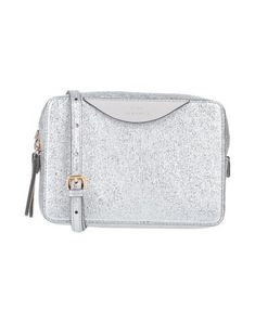 Small Leather Textured leather Laminated effect Logo Two-tone Zip Internal pockets Removable shoulder strap Leather lining Contains non-textile parts of animal origin Anya Hindmarch Handbags, Anya Hindmarch Fashion, Shoulder Strap, Shoulder Bags, Saddle Bags, Soft Leather, Bag Accessories, Shopping Bag, Silver