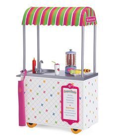 Look at this #zulilyfind! Campus Snack Cart for 18'' Doll by American Girl® #zulilyfinds