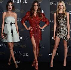 Vogue Paris 95th Anniversary Party - Red Carpet Fashion Awards