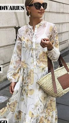Elegant Outfit, Elegant Dresses, Cute Dresses, Summer Dresses, Modesty Fashion, Fashion Outfits, Womens Fashion, Winter Baby Clothes, Chic Summer Style