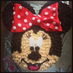 Minnie Mouse birthday cake!