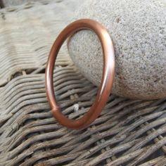 Mens braccialetto Bracciale tubo rame di silveringjewelry su Etsy