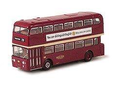 This Alexander Fleetline Diecast Model Bus is Red and features working wheels. It is made by EFE and is 1:76 scale (approx. 12cm / 4.7in long).  ...