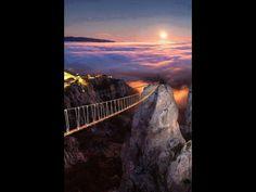 Beauty Places To See, Bridge, Nature, Beauty, Naturaleza, Bridges, Nature Illustration, Beauty Illustration, Bro