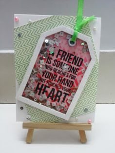 V R Enchanted: Friend Shaker card