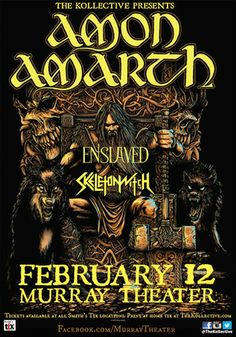 Next year February 14th San Francisco @ The Regency Ballroom! Want a poster for this :)