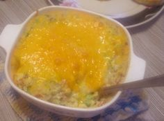 Yum... I'd Pinch That! | BROCCOLI AND RICE CASSEROLE... This dish has an added twist... SPICY!