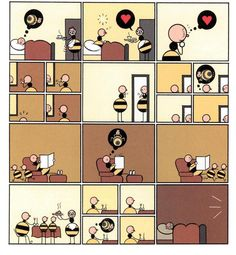 Chris Ware, Building Stories (Branford, the Best Bee in the World)