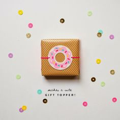 Freebies: Adorable Printable Donuts! | Art And Chic