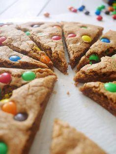 Le big cookie aux M&M's à partager