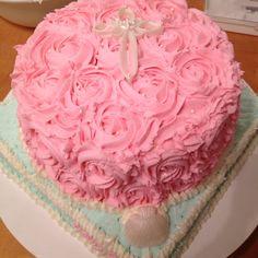 Baptism Cake By Genie Lafayette La