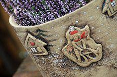 oválný květináč s příběhem-sáňkař-rezervace / Zboží prodejce lavender Burlap, Planter Pots, Reusable Tote Bags, Hessian Fabric, Jute, Canvas
