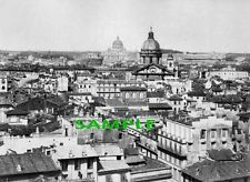 1877 ROME Italy Cityscape PHOTO