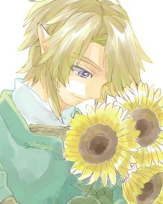 Link with flowers :3