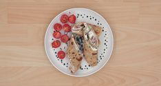 Kochen für Kinder: Pfannkuchen mit Schinken & Käuterquark