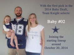 Football Draft Pregnancy Announcement