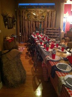 Great decoration ideas and more for a Western themed event!