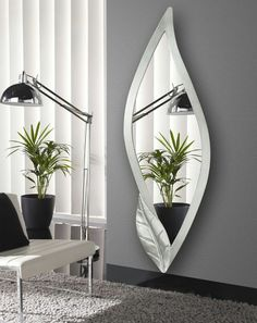4 Motivated Clever Tips: Wooden Wall Mirror Interior Design wall mirror entrance floors.Wall Mirror Interior Gray living room wall mirror entry ways. Rustic Wall Mirrors, Cool Mirrors, Mirror Shelves, Wall Mirror Ideas, Mirror Art, Mirror Bathroom, Mirror Collage, Decorative Mirrors, Beautiful Mirrors