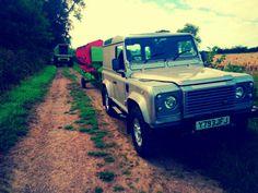 Defender Land Rover - Photo taken by Aaron Garrett