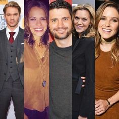 Chad Michael Murray as Lucas Scott, Bethany Joy Lenz as Haley James Scott, James Lafferty as Nathan Scott Hilarie Burton as Peyton Sawyer Scott & Sophia Bush as Brooke Davis