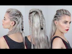 OCTAVIA The 100 Hair Tutorial - YouTube