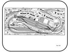 308 Gleisverlegung | brima - modellanlagenbau N Scale Train Layout, N Scale Trains, Model Train Layouts, Model Railway Track Plans, Train Table, Model Trains, Scale Models, Planer, How To Plan