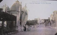 Vallvidrera , Barcelona 1907, Plaza del Funicular, Pabellón Monserrat,
