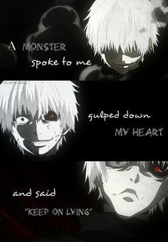 anime : Tokyo Ghoul Manga Quotes, Anime Qoutes, Citation Style, Sad Sketches, Anime Depression, Creepy Quotes, Tokyo Ghoul Quotes, Tokyo Ghoul Wallpapers, Tokyo Ghoul Manga