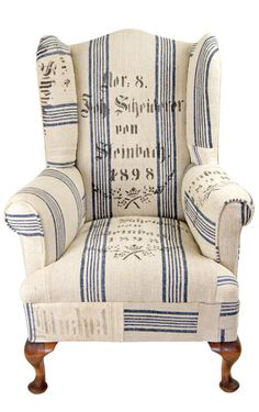Patchwork Chair by Kelly Swallow, available Adams Online Farmhouse Table Chairs, Dining Table Chairs, Blue Velvet Dining Chairs, Blue Chairs, Accent Chairs, Wingback Chair, Armchair, Farmhouse Style Curtains, Patchwork Chair