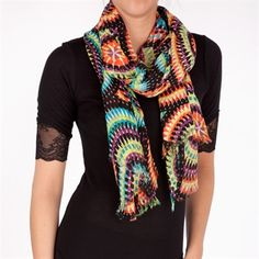 Colorful scarf for #FNPhenomenalScandalParty