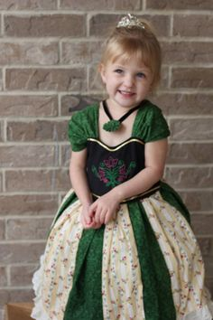 Inspiration - Anna's Coronation dress Inspired from the movie.