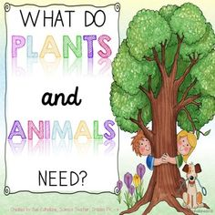 Use observations to describe patterns of what plants and animals (including humans) need to survive. Show your students the 3 page story in this packet and encourage them to observe what each living thing (human, animal, plant) needs. Discussion questions and answer key provided. Then do a fun activity where your kids have to place 24 cards onto the correct work mat.