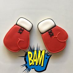 Boxing Glove Cookies