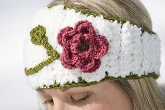Floral Head Wrap Crochet