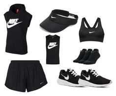 """""""Nike training clothes"""" by riahn-comte247 on Polyvore featuring NIKE and nike"""