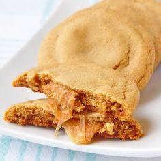 Caramel Stuffed Brown Butter Cookies