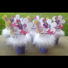 Daisy Duck Centerpieces by NiftyKreations1 on Etsy