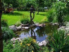 New Homes Greenville SC http://www.midlinbuildersllc.com Unique Backyard Garden Pond Design Ideas