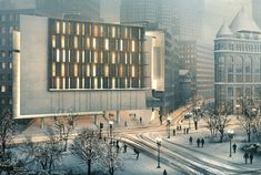 Visualizing Architecture - Post Production Snow Scene