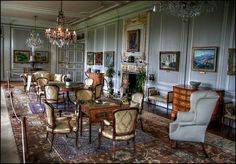 The upper drawing room, Burton Agnes by alanhitchcock49, via Flickr