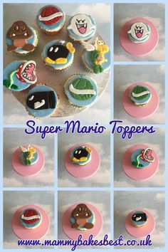 New Super Mario Toppers