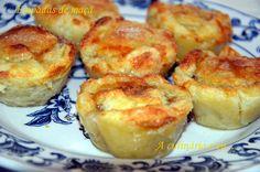 A Culinária e Eu ...: Empadas de maçã