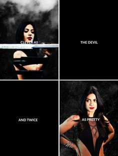 Izzy: clever as the devil. And twice as pretty.  love it #isabellelightwood #shadowhunters