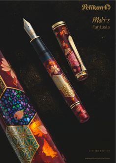 Absolutely love this: pelikan fantasia maki-e fountain pen
