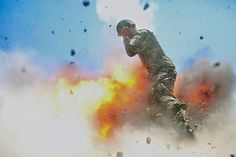A mortar tube accidentally explodes, killing four Afghan soldiers and U.S. Army photographer who took the photo, Spc. Hilda I. Clayton, during an Afghan National Army (ANA) live-fire training exercise in Laghman Province, Afghanistan July 2, 2013. The 2013 photo was released for the May-June issue of the United States Army journal Military Review.  U.S. Army/Spc. Hilda Clayton via Reuters