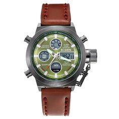 Men Luxury Military Genuine fashion casual Watches