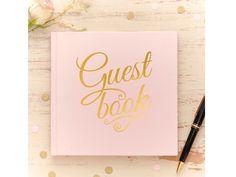 Ginger Ray gjestebok Pastel Perfection - Congratulations