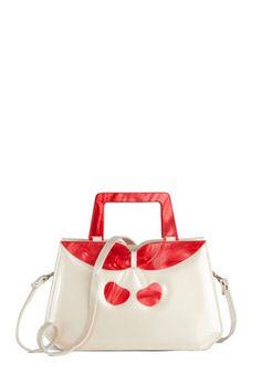 Cherry Pick-Me-Up Bag, #ModCloth