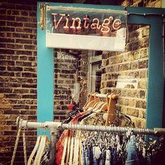 Vintage clothes at Camden market